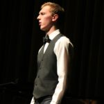 "Colden Palo singing ""Ich Grolle Nicht"" by Schumann with accompanist, Carolyn Olson."